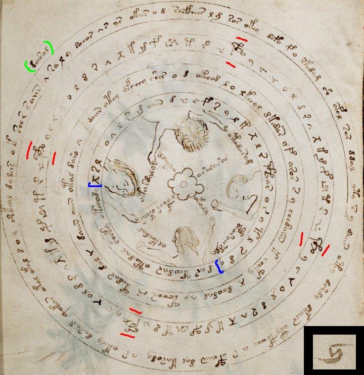 astrolabes nocturnals and voynich manuscript page f57v