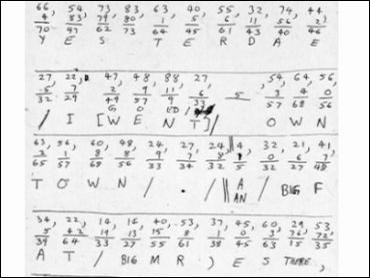 Unabomber-cipher-worksheet