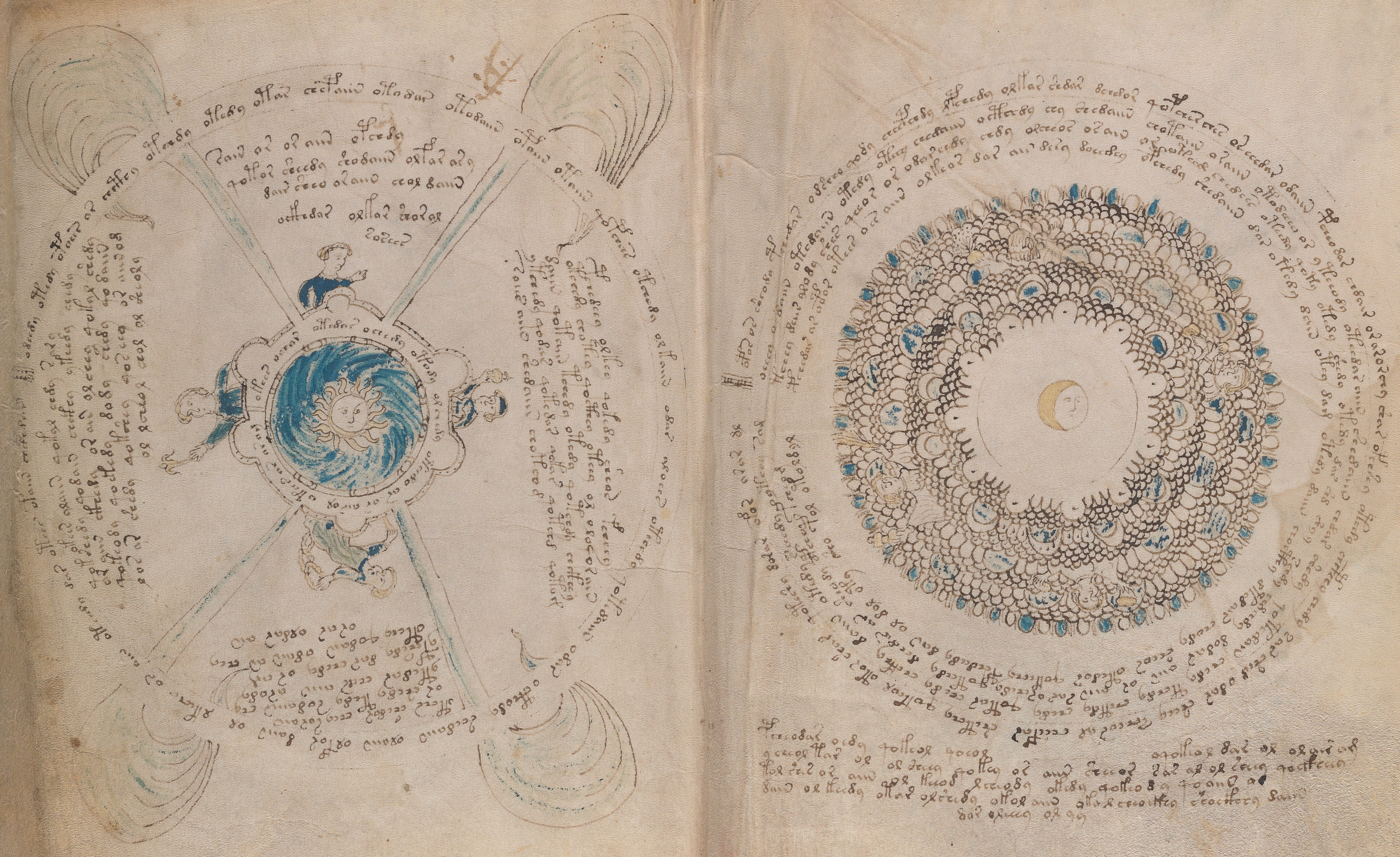 Voynich block #3 - the 'magic circles' - Cipher Mysteries