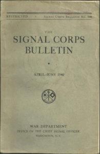 signal-corps-bulletin-april-june-1940