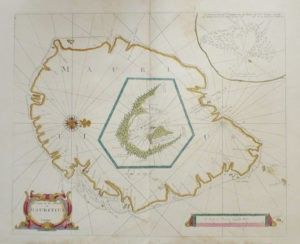 John-Thornton-A-Chart-of-the-Island-of-Mauritius-1734
