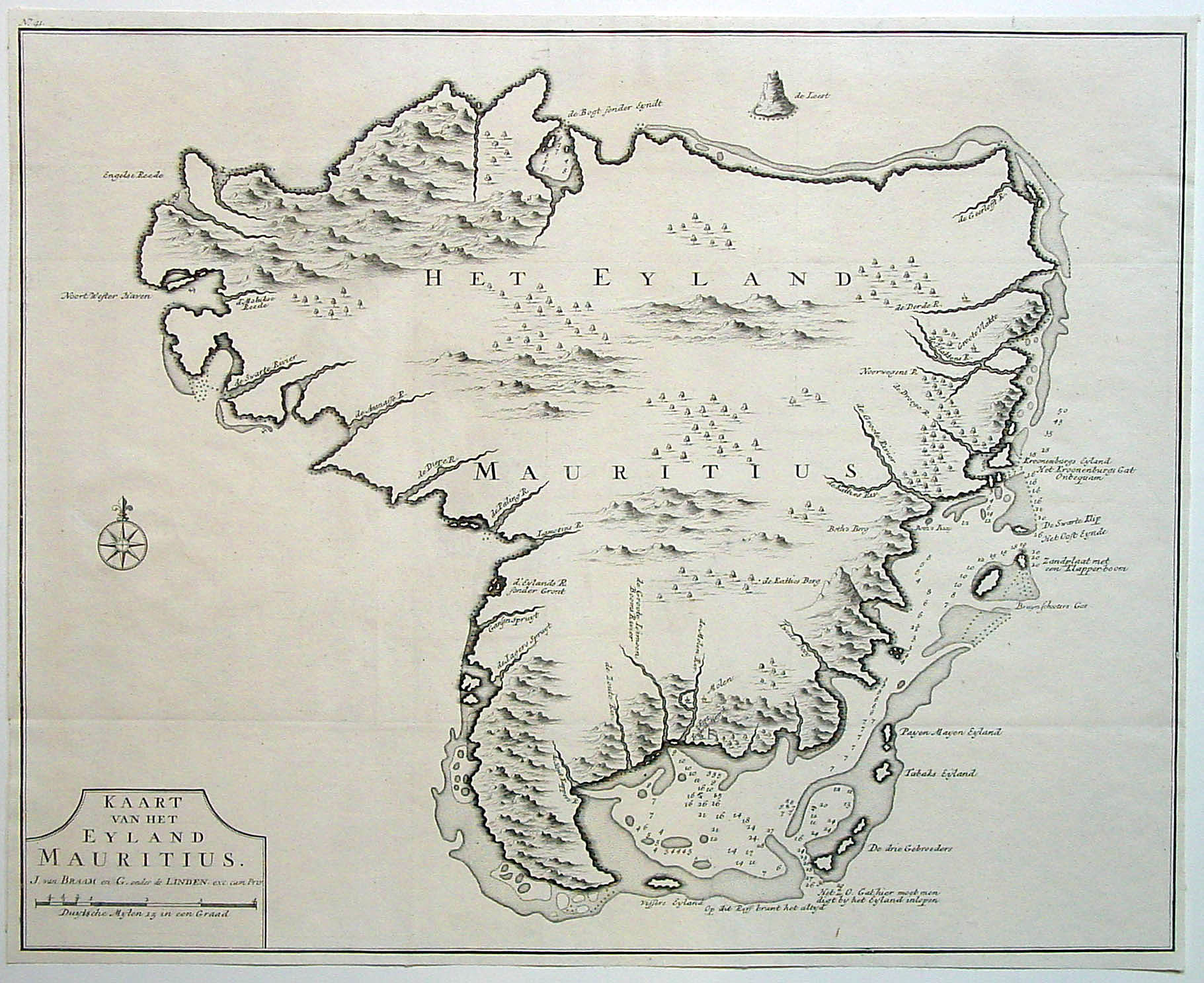 Early Maps Of Mauritius Cipher Mysteries - Mauritius maps