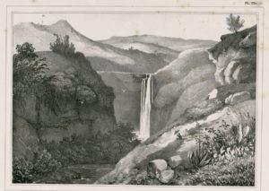 Chute de la Grande Rivière Louis Auguste de Sainson (1801-1887)