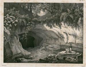 Une Grotte au Quartier de la Grande Riviere Louis Auguste de Sainson (1801-1887)