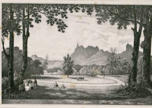 Vue de la Montagne de Pieter Bot Louis Auguste de Sainson (1801-1887)