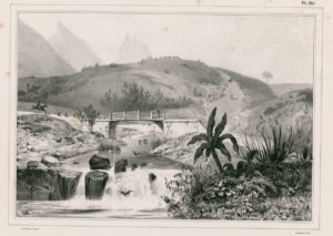 Vue Prise sur la Route de Port-Louis Louis Auguste de Sainson (1801-1887)
