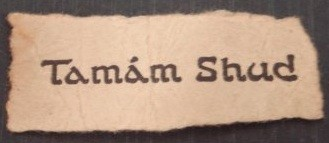 Tamam Shud Somerton Man Cipher Mysteries